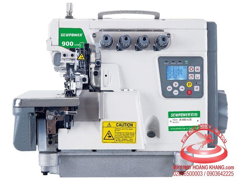 Máy vắt sổ 2 kim 4 chỉ liền trục SEWPOWER SP-900D-5