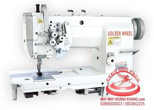 Máy may 2 kim di động Golden Wheel CS-8165 | maymayhoangkhang.com | 0903642225